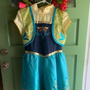 Princess Anna Disney Frozen Costume Size XL